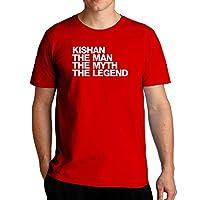 Eddany Kishan the man the myth the legend Left Aligned - Tシャツ