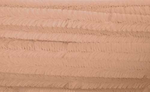 Chenilles / Pipe Cleaners - Beige 12mm x 300mm - 15 Per Pack