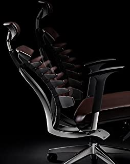 Teknio.n rbtt Original ribs fit back leather chair spine ergonomic computer chair