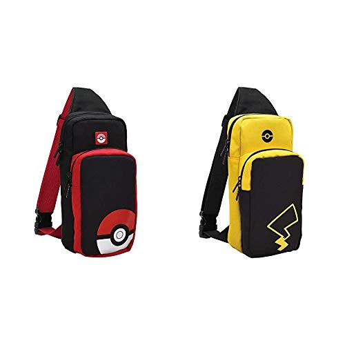 Nintendo Switch Adventure Pack (Pikachu Edition) Travel Bag by HORI - Officially Licensed by Nintendo & Pokemon