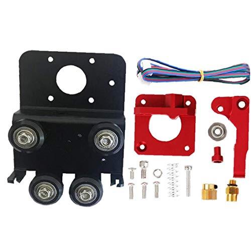 ZYCX123 3D-Drucker Direkt Extruder Upgrade-Drive Kit Teile Platte Aluminiumlegierung für Ender 3 Pro CR 10 CR 10S S4 S5 Druckzubehör