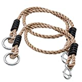 Cipliko 2 Piezas oscilantes Cuerdas de extensión Ajustable Cable de extensión de Cable para oscilación Ajustable Cuerdas oscilantes Accesorios Hamaca Que sostiene