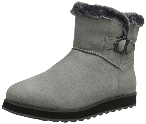 Skechers Damen Keepsakes 2.0 Kurzschaft Stiefel, Grau (Grey Suede Gry), 37 EU