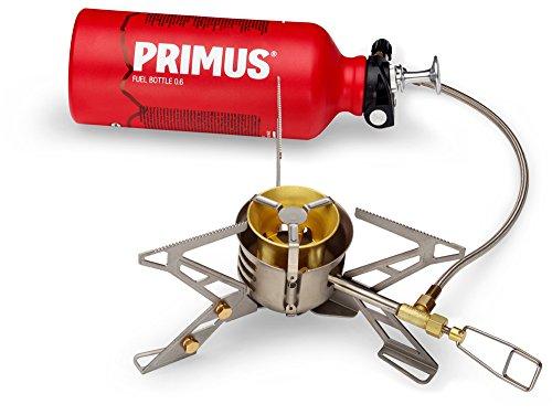 Primus–OmniFuelII Kocher mit Flasche und Tasche