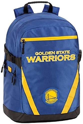Mochila escolar NBA Golden State Warriors original nueva colección 2020-21 + llavero silbato