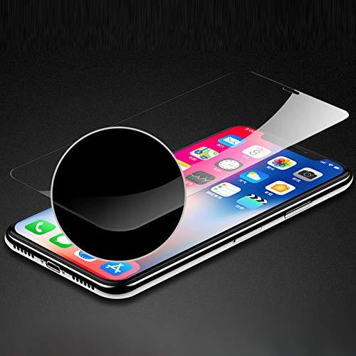 Wwjwf Vidrio Protector, para iPhone XR 6 6S Plus X XS MAX 5S 8 7, Protectores De Pantalla del Teléfono