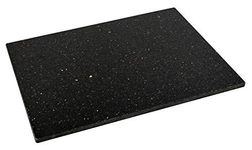 DiConcetto Schneidebrett aus Granit (40 x 30 x 1, Granit Star Galaxy)