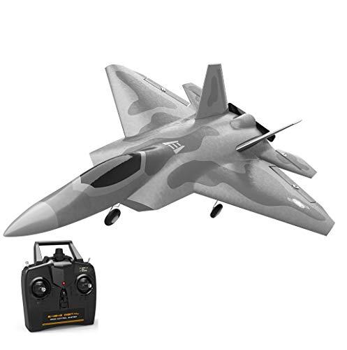 EACHINE Mini F22 Raptor RC Aereo Jet Trainer Warbird EPP 260 mm apertura 2.4G 4CH 6 assi Gyro ala fissa RTF One Key volo artificiale (3 batterie)