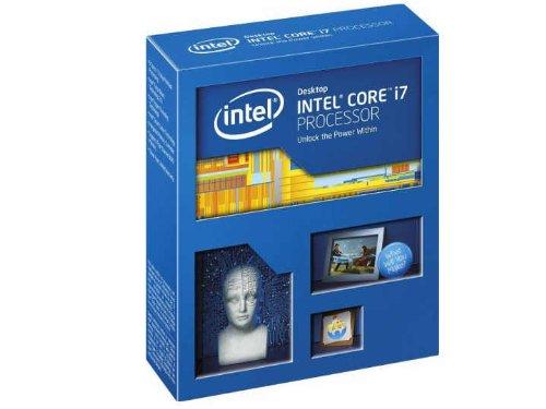 Intel BX80633I74930K Boxed Intel Core i7-4930K Ivy Bridge Processor, 12 MB Cache, 3.40 GHz, Nero