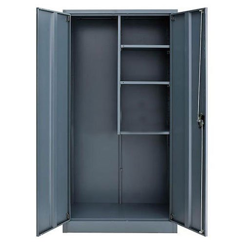 Global Industrial Assembled Janitorial Cabinet, 36x18x72, Gray