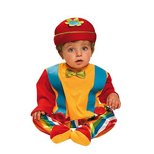 Desconocido My Other Me-203275 Disfraz de bebé payaso, 1-2 años (Viving Costumes 203275)