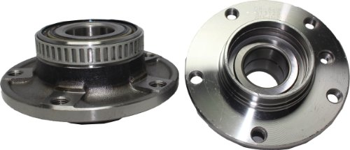 Detroit Axle - Front Wheel Bearing and Hub Assemblies Pair for 1991-08 BMW Z3 535i 530i 328i 325i - 3/5 / 7/8 Series Models | 513125