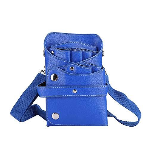 Afneembare riem Eenvoudige en modieuze opbergtas, gereedschapstas voor kappers, weerstand tegen verbrijzeling voor professionele stylist Persoonlijke verkleedhulpmiddelen(blue)