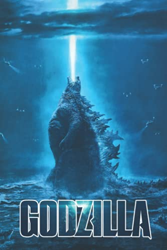 Godzilla Notebook: - 6 x 9 inches with 110 pages, In lined