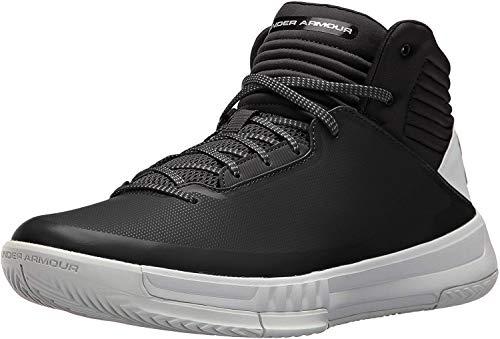 Under Armour Ua Lockdown 2, Zapatos de Baloncesto, Hombre, Negro (Black 001), 42 EU