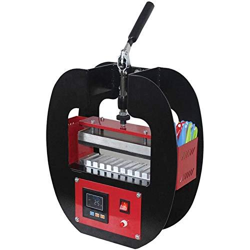 ボールペン用ヒートプレス機、ポータブル伝熱機10ステーションペンプリンターホットスタンピング広告ボールペン熱昇華転写DIYツール9-12mmホットプレス