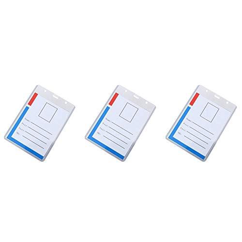 Tarjeta de protección de permiso de trabajo 12.5x9.6cm Tarjeta de protección radiológica con número LAN-3pc