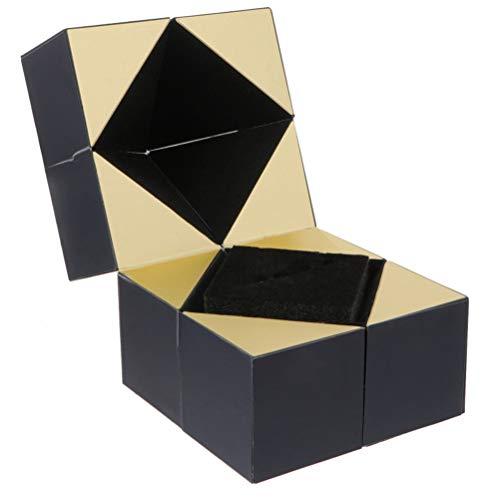 YLSZZTT Caja De Almacenamiento De Anillo De Dedo De 1 Pieza Caja De Envoltura De Regalo De Contenedor De Anillo De Boda Creativo