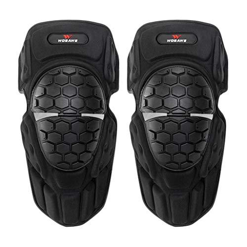 GUOJIN Knieschoner Beinstulpen Gepolstert für Volleyball Torhüter Hockey Snowboard, Gummi-Schutz für atmungsaktive Ellenbogenschützer