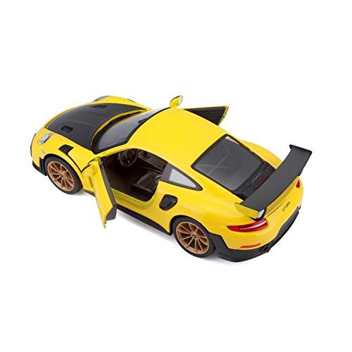Maisto 1:24 SE 2018 Porsche 911 GT2 RS - Yellow/Black