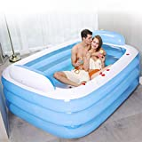 Inflatable Swimming Pool, Inflatable Play Center, Inflatable Hot Tubs, Thickened Swimming Pool Kiddie Pool for...