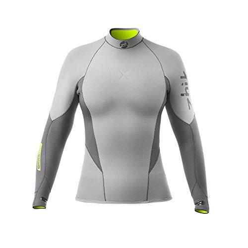 Zhik 2018 Womens Superwarm X 3/2mm Neoprne Top Grey DTP1170W Wetsuit Sizes - Medium
