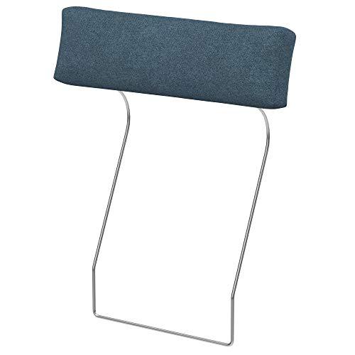 Soferia Funda de Repuesto para IKEA VIMLE Funda reposacabezas, Tela Strong Blue, Azul