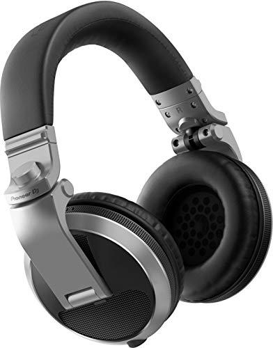 Pioneer Dj HDJ-X5-S, Cuffie Over-Ear Professionali, 1, Argento