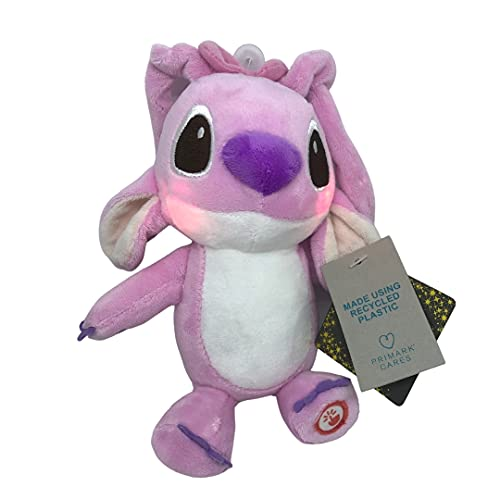 Primark Home Peluche Stitch para bebés Rosa con Luces (Angel) (Purpple)