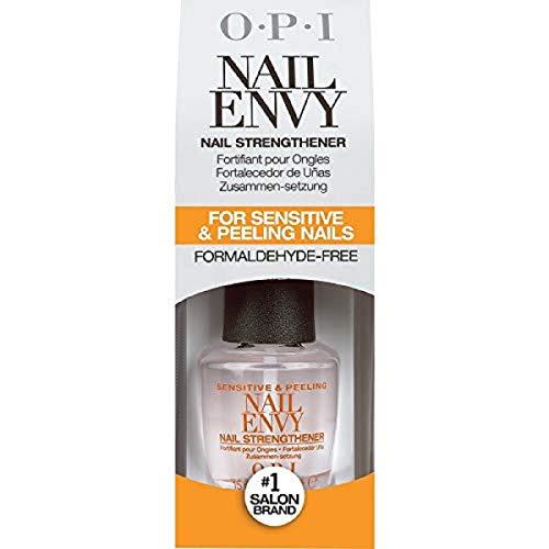OPI Nail Strengthener, Sensitive and Peeling Nail Envy Treatment, 0.5 Fl Oz