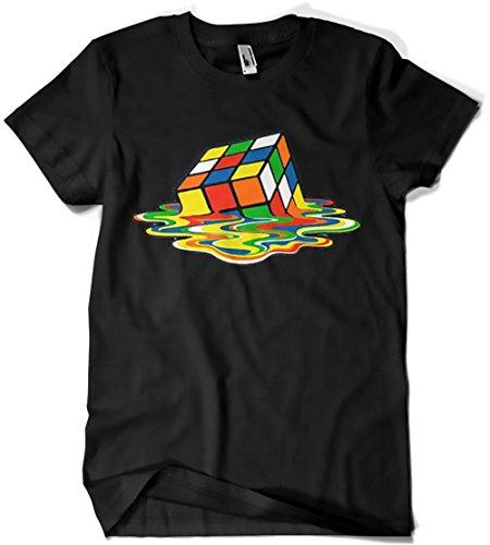 Camisetas La Colmena 1508 - Magic Cube (XL, Negro)
