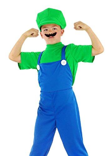 Folat Kinderkostüm Klempner grün