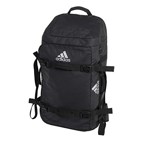 adidas 90L Stage Tour Trolley Bolso, Adultos Unisex, Black (Negro), 90 L