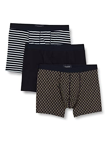 Scotch & Soda Herren Classic 3-Pack Jersey Boxer Short Boxershorts, Combo B 0218, L