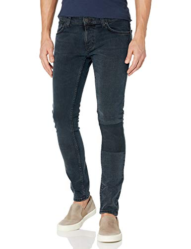 Nudie Jeans Unisex-Erwachsene Tight Terry Black Balance Jeans, Schwarzes Gleichgewicht, 33W x 30L