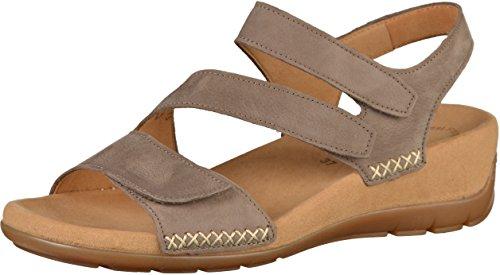 Gabor Jollys Sandalette in Übergrößen Braun 83.734.13 große Damenschuhe, Größe:42
