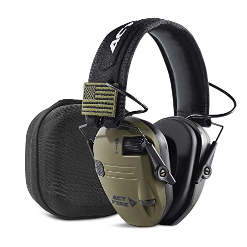 Ear Protection Hearing Protection for Shooting Gun Range Earmuffs with Case