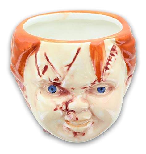 Child's Play Chucky 3.5oz Sculpted Ceramic Mini Mug