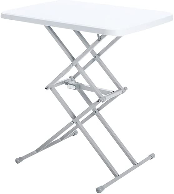 PIAOLING Outdoor Portable Folding Table OFFer Adjus price Lift