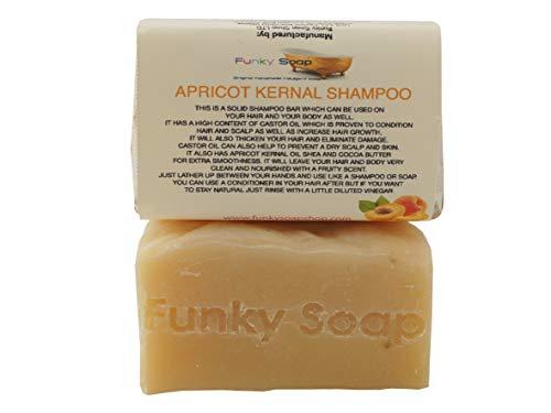 1 ud. ACEITE DE ALBARICOQUE Champú sólido de cabello y cuerpo 100% Natural Artesanal aprox.65g