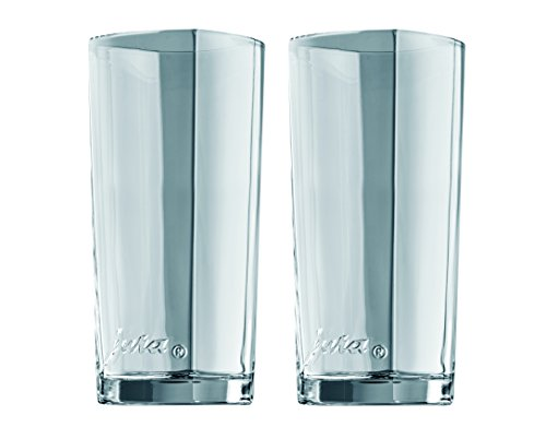 Jura 69001 Latte-Macchiato-Gläser 2-er Set, Circa 15 cm
