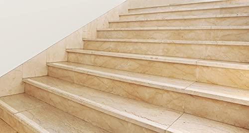 Kara.Grip 5 Stk Anti Rutsch Treppenstufen Streifen transparent fein gekörnt 5 cm breit in augewählter Länge und Breite Treppe auch fuer Hund, Kind. Anstatt Stufenmatte Treppenteppich (80 cm x 5 cm)