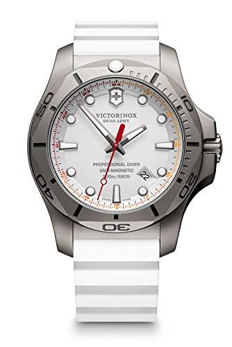 Victorinox Hombre I.N.O.X. Professional Diver Titanium - Reloj de Caucho/Titanio de Cuarzo analógico de fabricación Suiza 241811