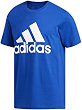 adidas mens Basic Badge of Sport Tee Collegiate Royal Medium