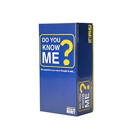 Do You Know Me Adult Party Game by What Do You Meme