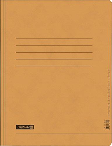 Fontana 102010740–Cartellina (A4, con scomparto per biglietti, con AMT, commerciale, in cartone) Arancione