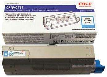 Oki - 44318603 Toner 11500 Page-Yield Cyan