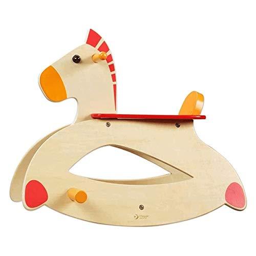 XWX Baby Rocking Horse Kleine Hölzerne Pferde Kinder Schaukelstuhl 1~6 Jahre Alte Kinder Pädagogische Spielzeug