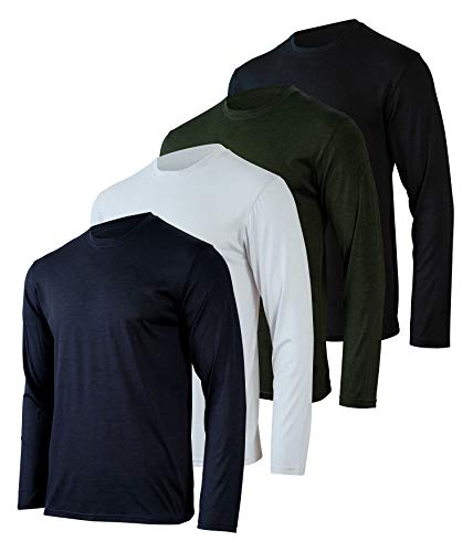 Mens Long Sleeve T-Shirt Workout...