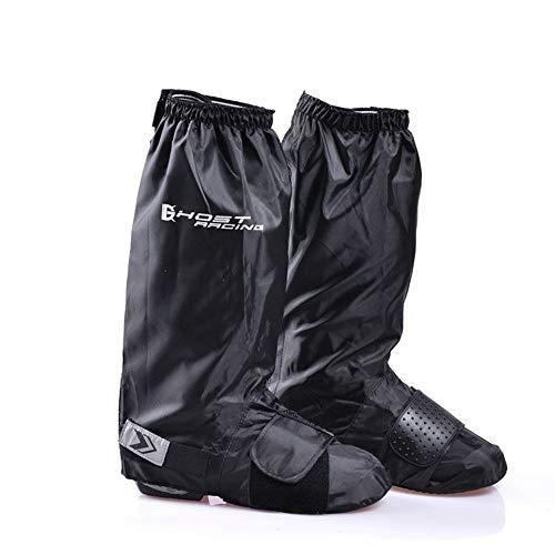 Huangjiahao Couvre-Chaussures de Cyclisme Bottes de Pluie Moto Moto équitation Couverture Fond épais résistant à l'usure Leggings imperméables Haute Couverture de Pied Protecteur de vélo